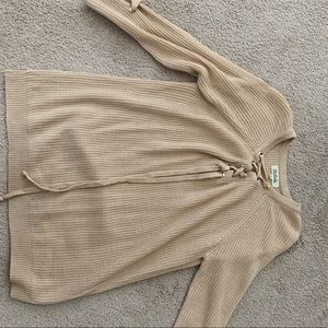 Listicle long sweater